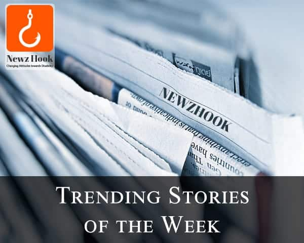 Close view of newspaper along with Newz Hook Logo-trending stories of the week