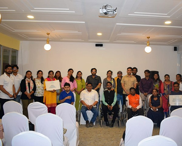 Participants at Aclude Foundation