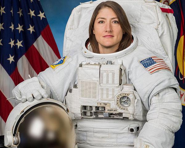 Christina Koch, astronaut