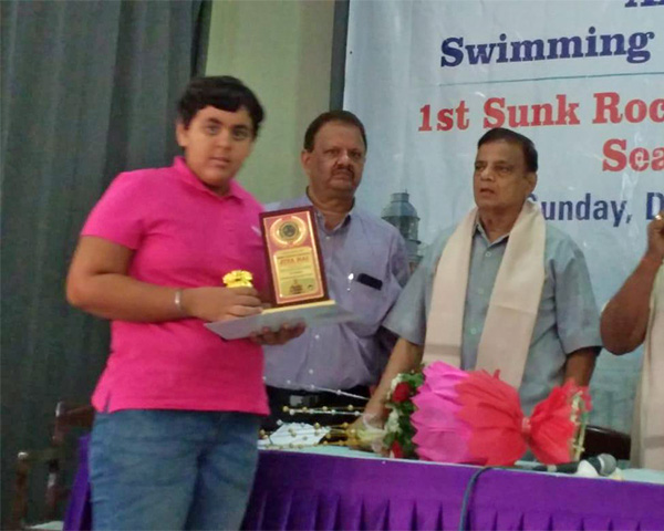 Jiya Rai, Swimmer with autism