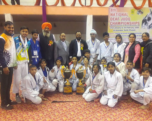 Punjab Judo junior team champions