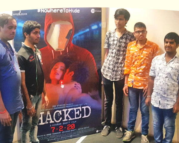 Bling people at screening of Hacked