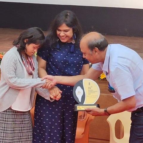 Usaid Shaikh, Gayatri Gupta and Pranavi Sethi.