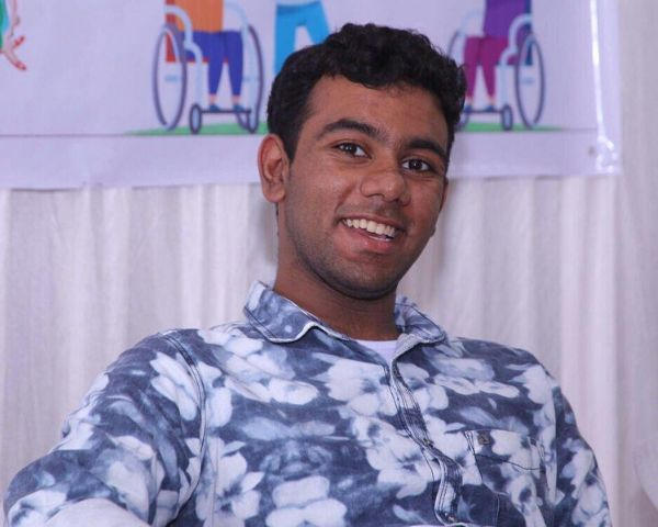 disabled artist sahl riyaz