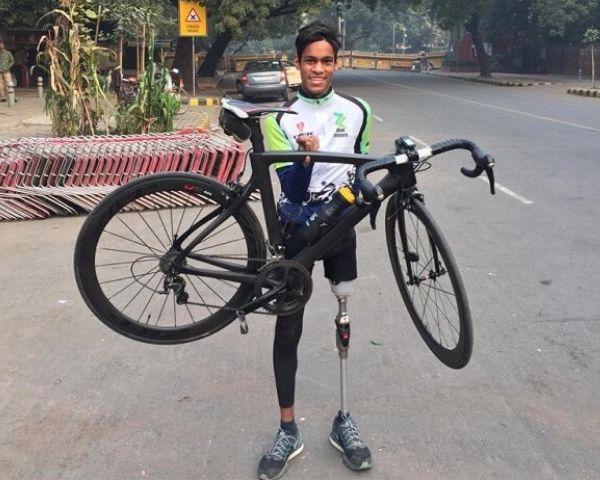 Himanshu Kumar, para athlete