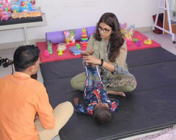 Shabnam Rangwala, Paediatric occupational therapist