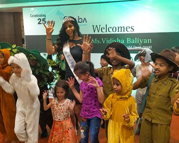 Vidisha Baliyan, Midd Deaf World 2019