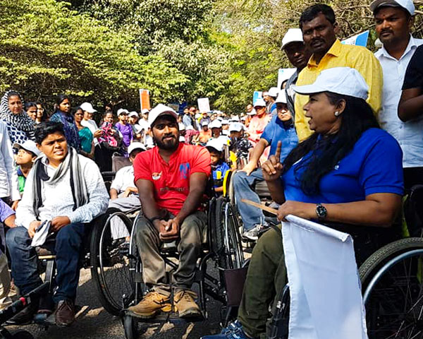 wheelchair users bangalore