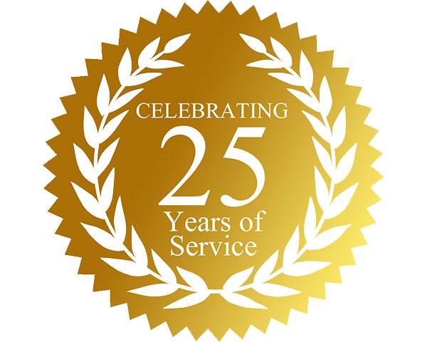 Suniye School Logo-Celebrating 25 years of service.