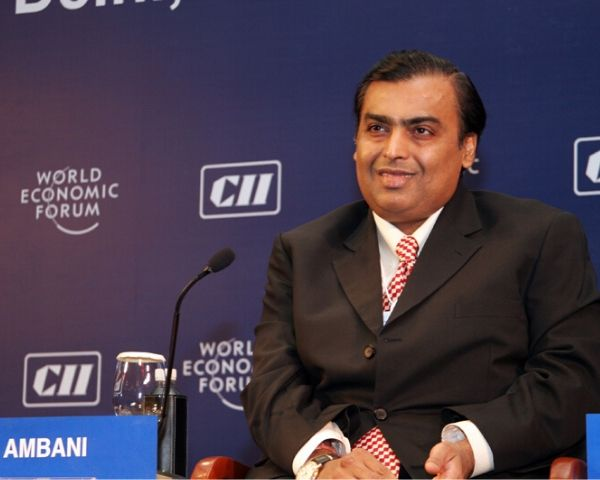 Mukesh Ambani, Chairman Reliance Industries