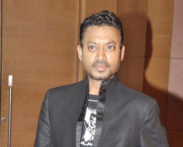 Irrfan Khan, Actor in a black suit.