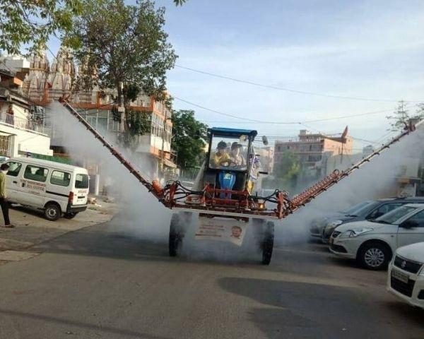sanitization of delhi