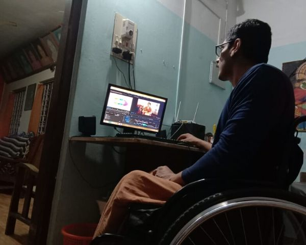 unni maxx watching short film