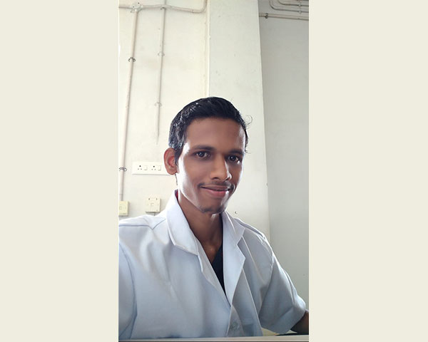 prajith disabled healthcare worker