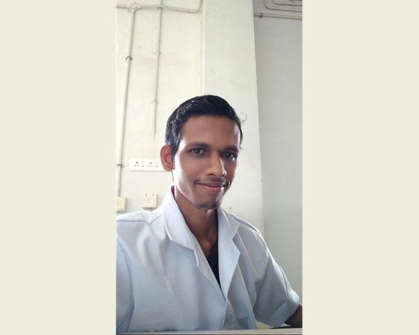 prajith disabled healthcare worker
