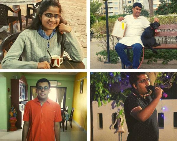 Nehal Tiwari, Anirudh Hattangadi, J Aditya and Jignesh