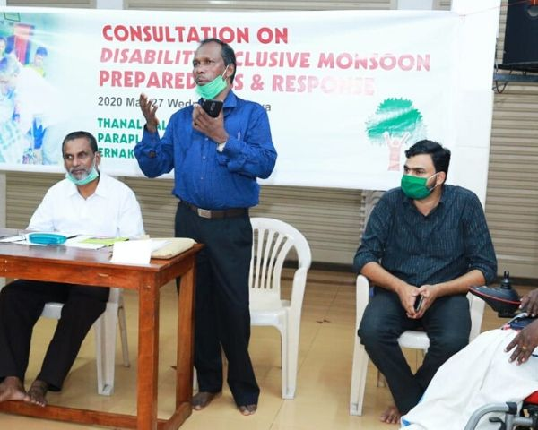 disability and monsoon workshop