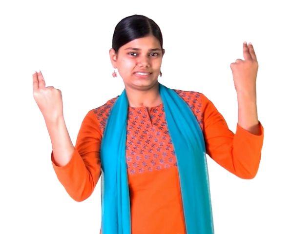 Raheel Farooqui, Deaf trainer from V-shesh.