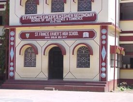 St Francis Xavier Higher Secondary School in Goa