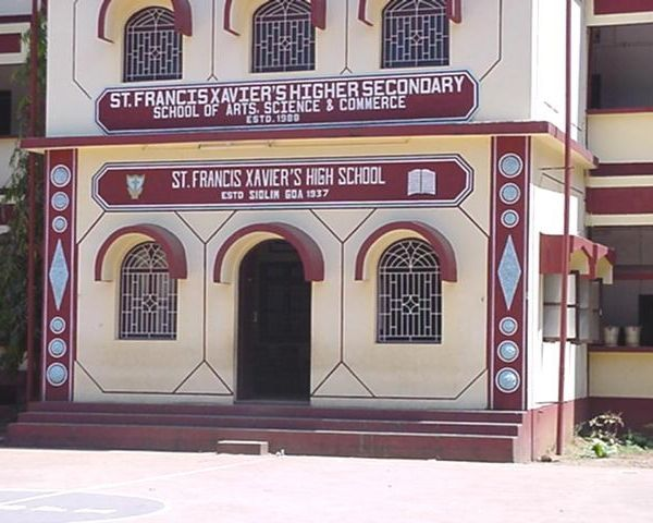 St Francis Xavier Higher Secondary School in Goa