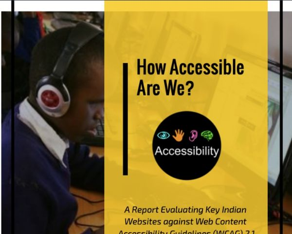Cover of the report with the words How Accessible Are We