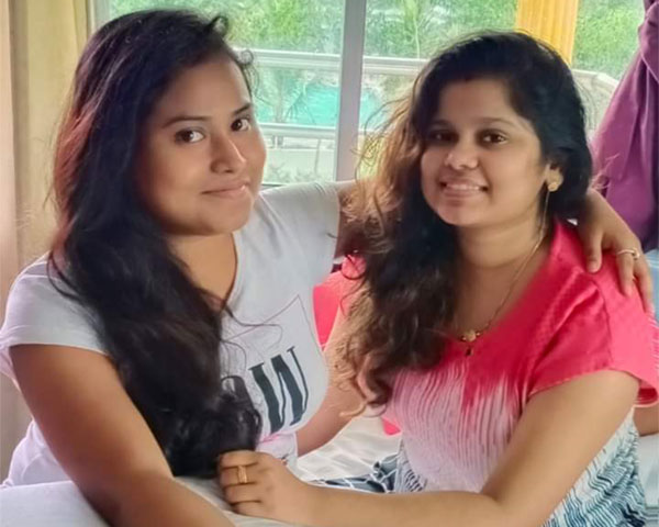 athira bhaskar and friend shampa majumdar