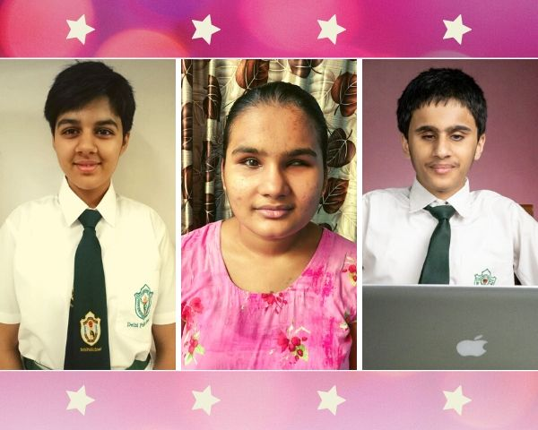 Photos of Megha Yadav, Bhumika Saini and Aarush Dewan