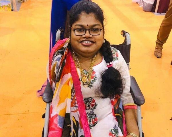 girl sitting on wheelchair