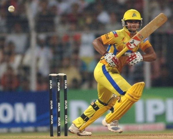 Chennai Super Kings player on the field