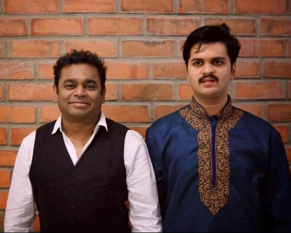 singer karthik with ar rahman