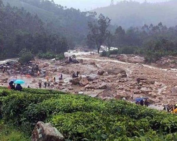 landslide in kerala