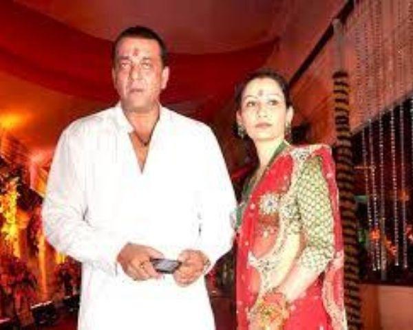 Sanjay and Maanyata Dutt