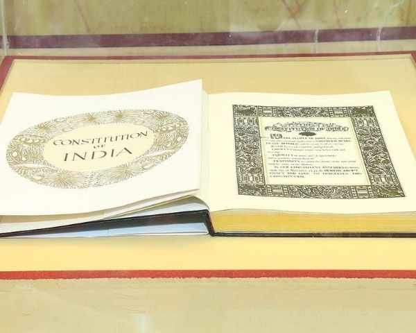 Indian Constitution in book format