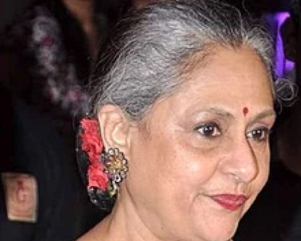 Close up of Jaya Bachchan