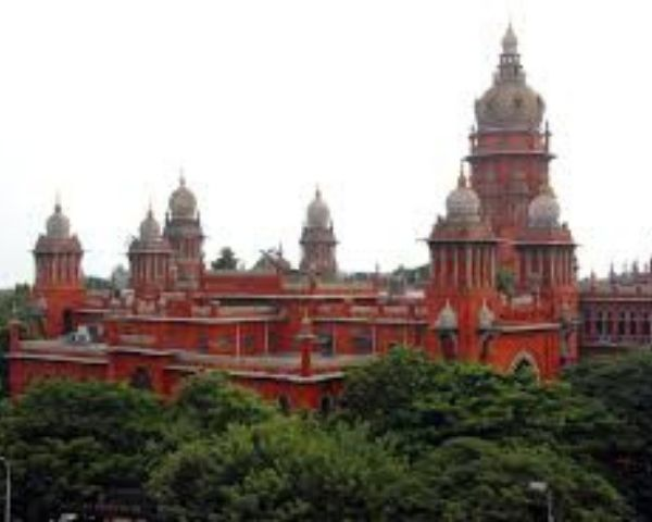 Exterior image of Madras High Court