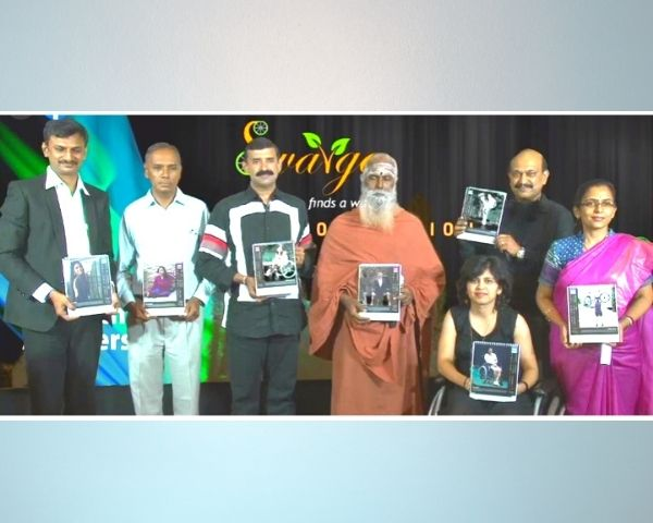 launch of I'am special calender of swarga foundation