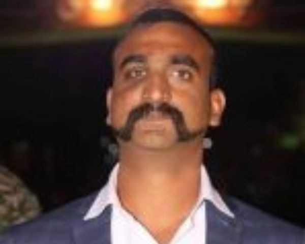 Close up of IAF pilot Abhinandan VArthaman