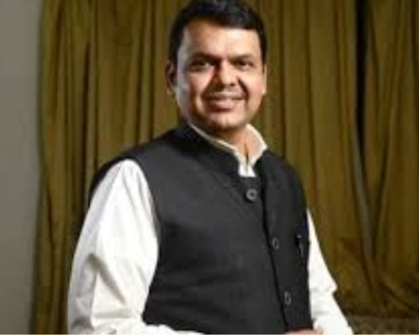 Close up of Devendra Fadnavis