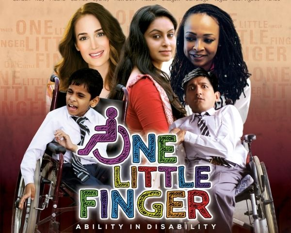 Poster of the film One Little Finger