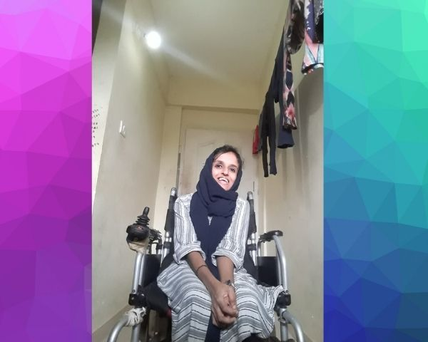 shamla poet with disability