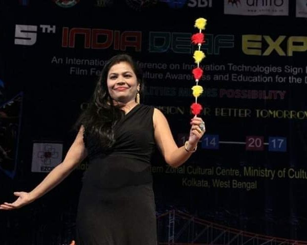 deaf woman magician sheetal kimmatkar