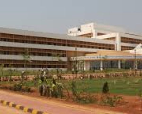 Exterior shot of Aiims Bhbaneshwar