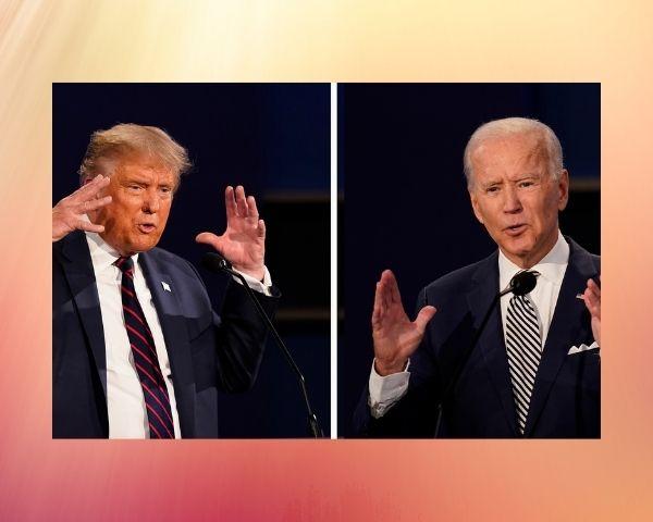 Image of biden and trump