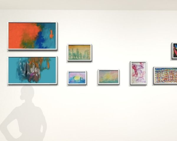 Image of virtual art gallery