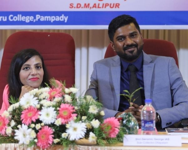 ira singhal sitting with jobin kottaram