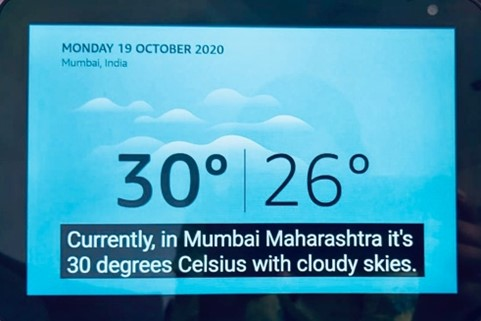 Currently, in Mumbai Maharashtra it's 30 degrees Celsius with cloudy skies.