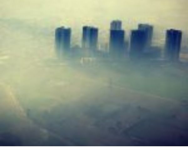 Cliouds of pollution