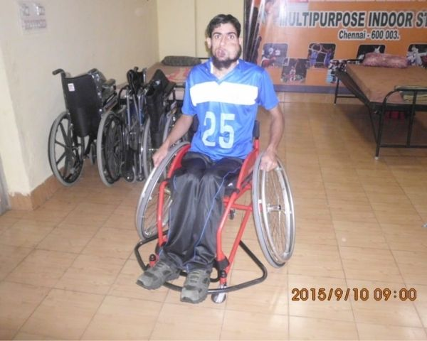 Mohammed Rafee Parray, wheelchair basketball player