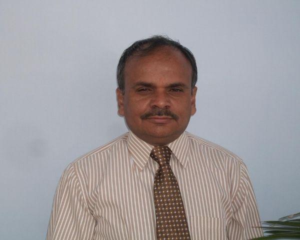 Close up of Rajesh Sharma