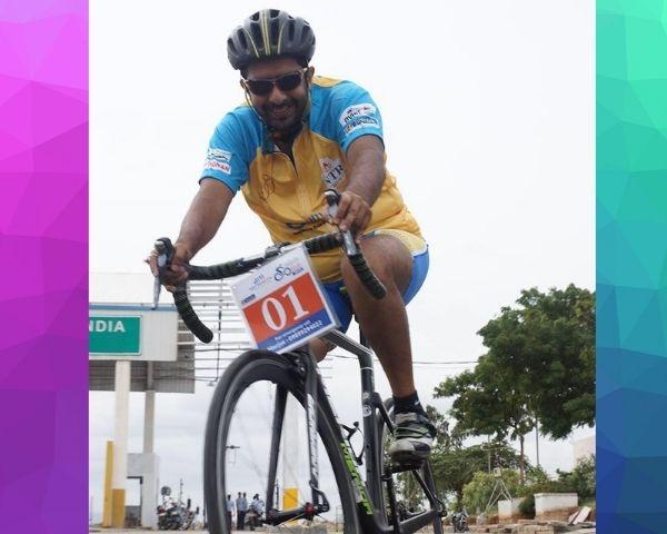 para cyclist aditya mehta